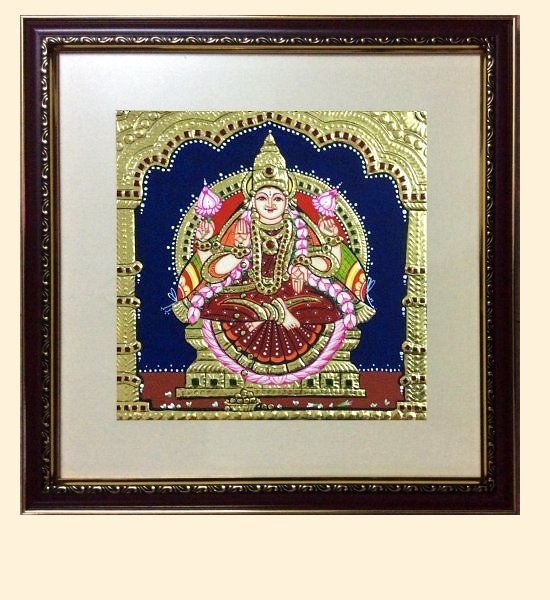 Lakshmi 43 - 10x10in (without frame)