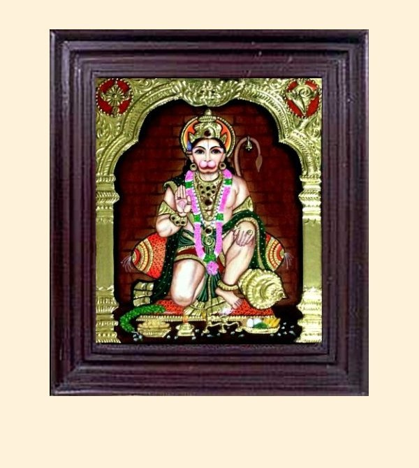 Anjaneyar 1 - 16x14in with frame