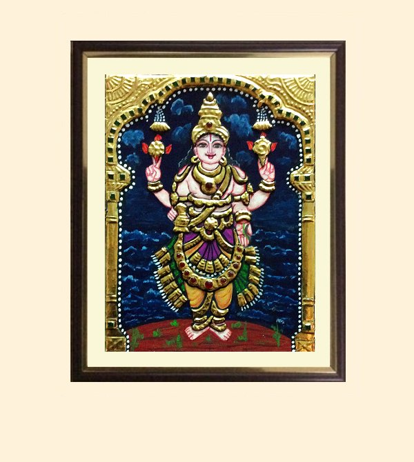 Dhanvantri 2 - 13x11 in with frame