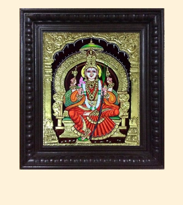 Lalithambika 1a - 16x14in with frame