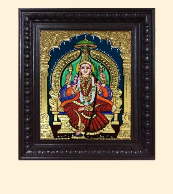 Lalithambika 1b - 16x14in with frame