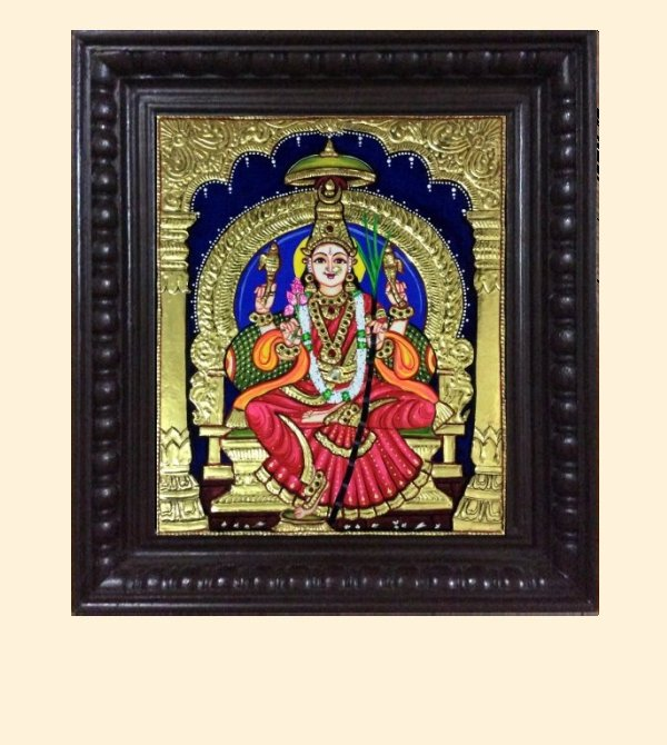 Lalithambika 1c - 16x14in with frame
