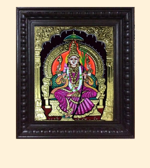 Lalithambika 1e - 16x14in with frame