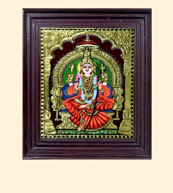 Lalithambika 1h - 16x14in with frame