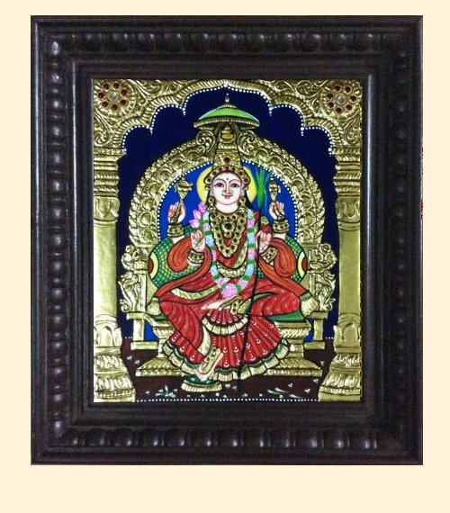 Lalithambika 2 - 15x13in with frame