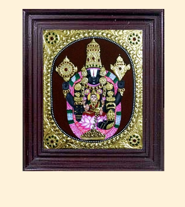 Venkatachalapathy 1 - 16x14in with frame