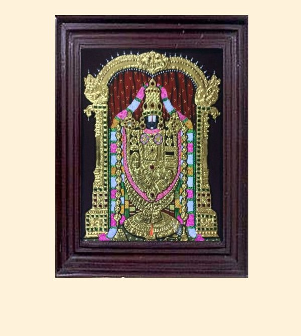 Venkatachalapathy 2 - 16x14in with frame